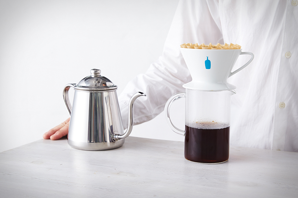 Blue Bottle Coffee pour over ดริป