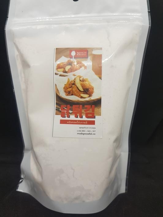 ไก่ทอดเกาหลี แป้ง ทำ ไก่ทอด