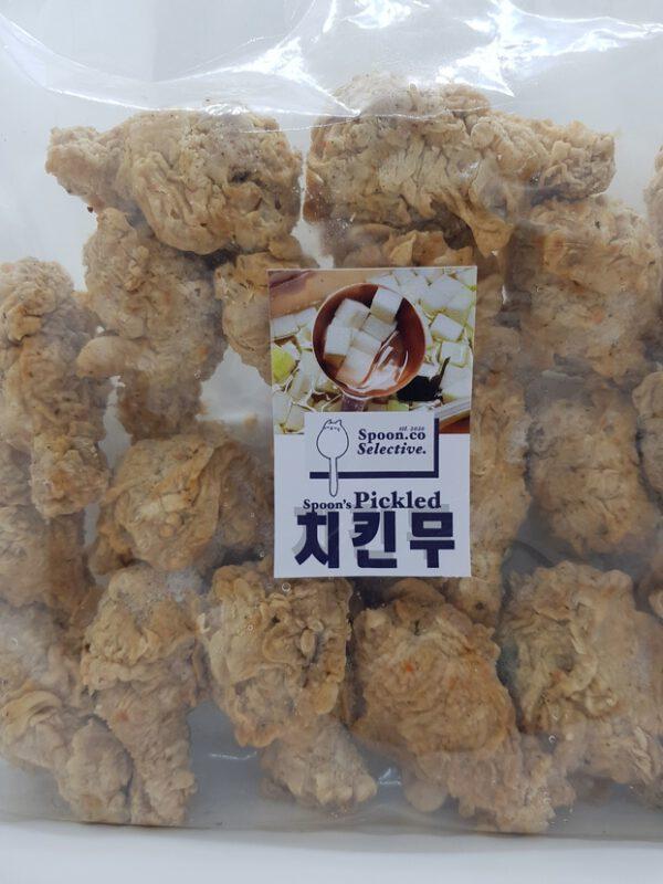 Spoon.co ไก่ทอด แช่แข็ง อาหารเกาหลี